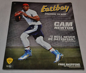 MINT Eastbay Catalog CAM NEWTON Cover Carolina Panthers #1 Under Armour May 2014