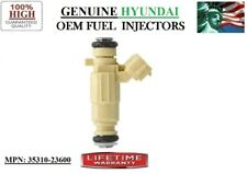 2003-2007 Hyundai Tiburon 2L I4 OEM HYUNDAI #35310-23600 Refurb x1 Fuel Injector