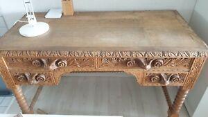 Schreibtisch antik Eiche