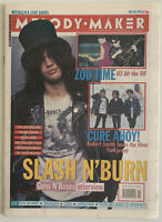 Melody Maker May 30 1992 Guns N' Roses, U2, The Cure, Suede