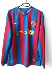 BARCELONA FC 2009/2010   HOME FOOTBALL SHIRT JERSEY SPAIN