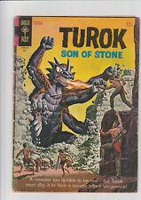 Turok #46  G Gold Key comic 1965 Monster Painted cover