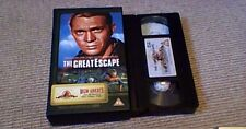 THE GREAT ESCAPE MGM GREATS UK PAL VHS VIDEO 1997 Steve McQueen James Garner