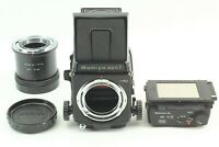 【N MINT】 Mamiya RB67 Pro SD Body 6x8 Motorized 120/220 Film Back From JAPAN #783