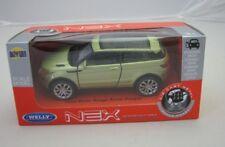 Land Rover Range Rover Evoque light green Welly DieCast Modelcar 1/36-39