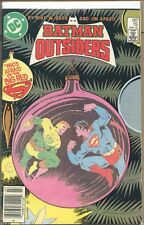 Batman and the Outsiders 1983 series # 19 UPC Code fine comic book
