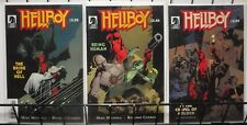 HELLBOY - 3 One-Shots Being Human In the Chapel of Moloch Bride of Hell Mignola