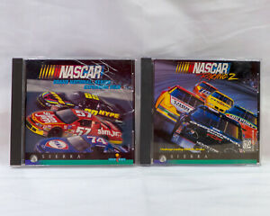 NASCAR Racing 2 and Grand National Series Expansion Pack Sierra 1996 Retro Game