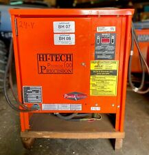 Hi Tech 3pf12b 600emep Forklift Battery Charger 24v 100a Used