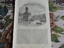 1860 Illustrirte Welt 20 / Nüenbweg / Gans Gänse Gänsebraten Imbiss