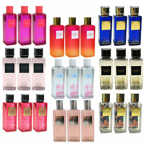 Victoria's Secret Lot of 3 Fragrance Mist Body Spray Prestige 8.4 Oz Each Vs New