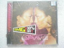 Jennifer Lopez JLO Brave CD 2007 forever RARE INDIA INDIAN HOLOGRAM NEW sticker