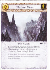 3 x Iron Mines AGoT LCG 1.0 Game of Thrones Kings of the Sea 27
