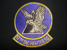 Desert Storm US 17th TACTICAL FIGHTER Squadron Patch