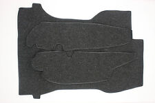 PORSCHE 911 / 912  GERMAN SQUARE WEAVE TRUNK CARPET 1965 - 1968 CHARCOAL