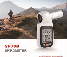 Digital Spirometer Sp70b Bluetooth Checking Lung Condition Spirometrymouthpiece