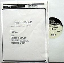 NEGATIVLAND Helter Stupid 1989 Promo TEST PRESSING LP SST Experimental PUNK Mint