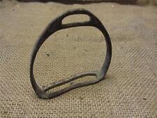 Vintage Cast Iron Stirrup > Antique Old Western Horse Bits Farm Bridles 9044