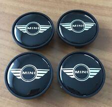 4 MINI Embleme Nabenkappen Nabendeckel Felgendeckel Wings Edition ORIGINAL NEU