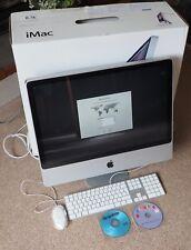 "Apple iMac 24"" 2.93GHZ Intel Core 2 8 Go 640 Go Desktop-sept. 2009 + adobe CS4"