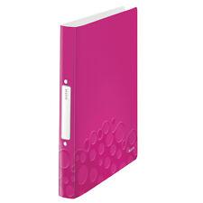 Leitz Ringbuch WOW DIN A4 PP Pink-metallic 2 ringe