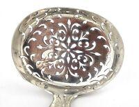 Antique Georgian Sterling Silver Sifter Spoon Fiddle Pattern London 1814 51 g