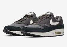 best service 18177 f0e20 NIKE AIR MAX 1 AH8145 012 THUNDER GREY SAIL WHITE BLACK - SUEDE