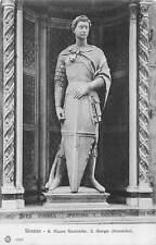 Italy Firenze, R. Museo Nazionale S. giorgio Donatello Statue Sculpture 1921
