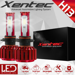 Xentec 100W 12000LM 6000K CREE LED Headlight H13 9008 Hi/Lo Beams White Bulbs