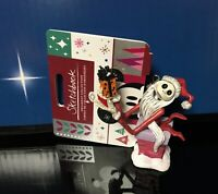 Disney Santa Jack Skellington Nightmare Before Christmas Sketchbook Ornament NWT
