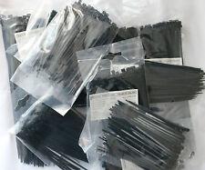 900  Stück Kabelbinder Schwarz Kabelband Set 100   200  x 2,5  3,6