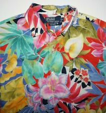 Vintage Polo Ralph Lauren Caldwell Men's Floral Hawaiian Camp Shirt Size M