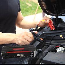 Multifunction 68000mAh 4USB Car Jump Starter Power Bank For Emergency Start XP