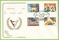 G.B. 1981 Disabled set on Cotswold U/A First Day Cover, DIG London