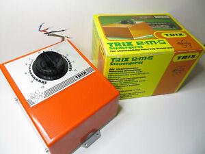 252N - Minitrix 5502 - EMS / E.M.S Trafo orange - mit OVP