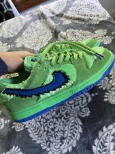 Nike SB Dunk Low Pro Qs green Size 8.5 Men *FREE SHIP*