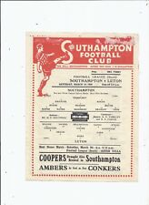 More details for southampton v luton town 16 march 1946