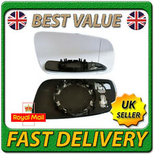 Right Driver Side Heated Electric Wing Door Mirror Glass for SEAT LEON 1999-2003
