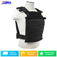 """MOLLE PALs Fast Plate Carrier Vest for 11""""X14"""" Plates 1050 Nylon Adjustable"""