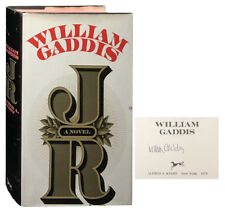 William Gaddis / JR Signed 1st Edition 1975
