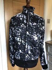 Nike NSW Sportswear Grey Camo Tribute Summer Track Top Jacket Size Medium