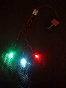 RC Model Boat Pre-Wired Basic LED Navigation Light Kit - Choose Options