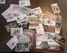 Vintage Postcards LOT - Funny- Misc -  Embossed, Germany, Early 1900s, +More!