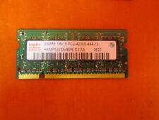 Hynix 256MB 1RX16 PC2-4200S Laptop Netbook RAM Memory Very Good 3472