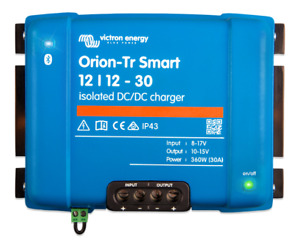 Victron Smart Orion-TR 12V to 12V DC DC Converter - 30A Isolated - bluetooth