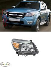 FOR FORD RANGER 2009 - 2012 FRONT MANUAL / ELECTRICAL HEADLAMP RIGHT O/S LHD