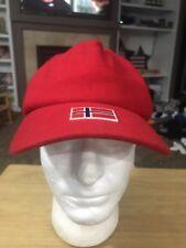 Phenix Red Iceland Flag OSFM Baseball Cap Hat