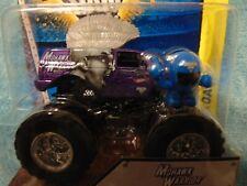 PURPLE MOHAWK WARRIOR 2014 with figure Hot Wheels Monster Jam Truck