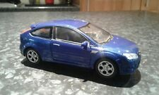 welly ford focus blue st model die cast car 1:60