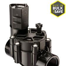 Black 1-in Plastic Manual Electric Inline Irrigation Underground Sprinkler Valve